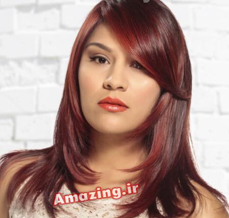 رنگ مو , رنگ موی زنانه سال , مدل رنگ مو