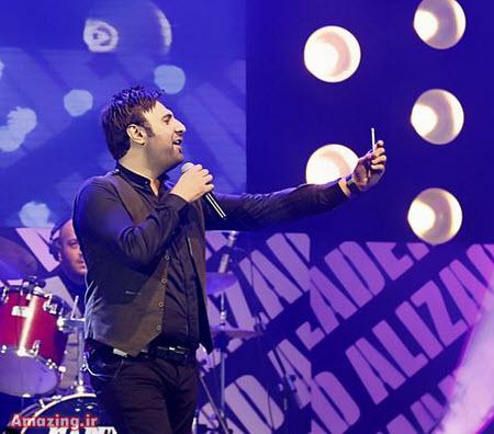 عکس کنسرت محمد علیزاده , سلفی محمد علیزاده