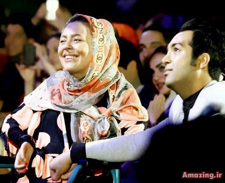 عکس کنسرت محمد علیزاده , عکس احسان و سولماز در کنسرت