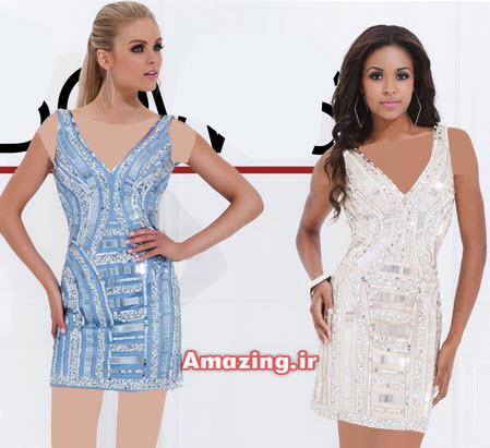 لباس مجلسی 2015 , مدل لباس مجلسی کوتاه