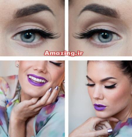 مدل آرایش چشم 2015 , مدل آرایش 2015, میکاپ صورت