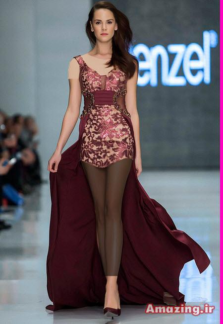 لباس مجلسی 2015 , لباس مجلسی کنزل , لباس مجلسی ترک , kenzel