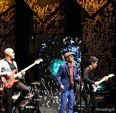 عکس مرتضی پاشایی , عکس جشن موسیقی ما