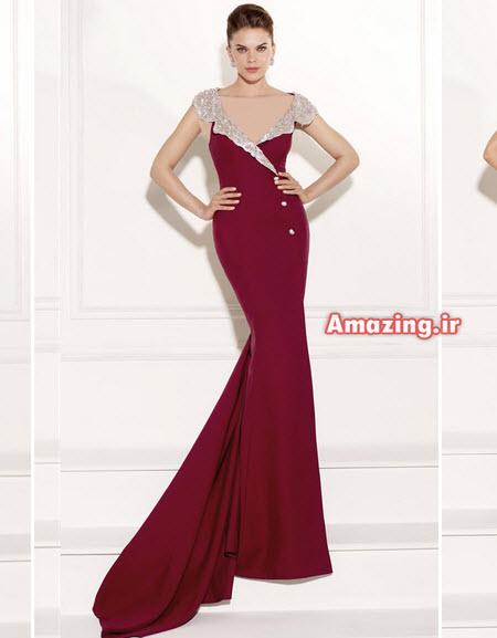 لباس مجلسی 2015 , لباس مجلسی ترک , لباس گیپور بلند