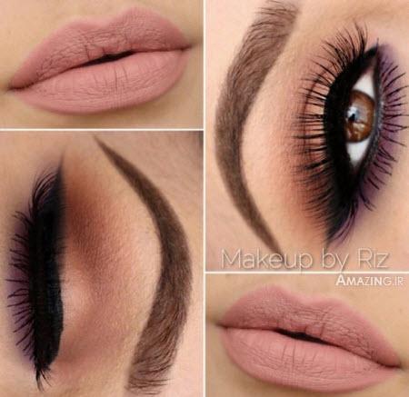 مدل آرایش چشم 2015 , خط چشم 2015, میکاپ صورت