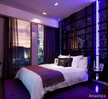 Purple And White Room Decor