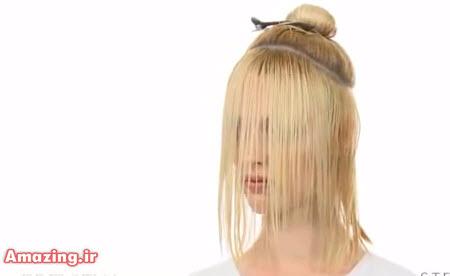 فیلم آموزش کوتاه کردن مو زنانه , حالت دادن مو کوتاه زنانه , مدل مو کوتاه 2015