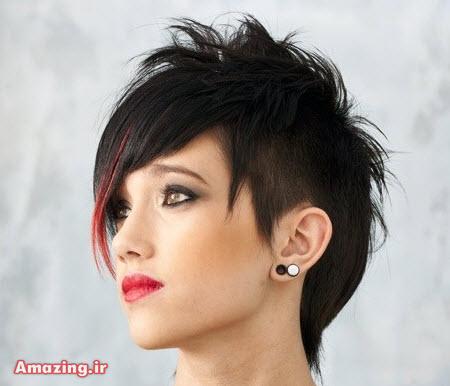 مو کوتاه زنانه , مدل مو کوتاه 2015 , مدل مو کوتاه مجلسی