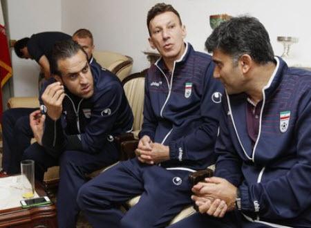 عکس بازیکنان در اردوی پرتغال , اردوی پرتغال , بازیکنان تیم ملی فوتبال