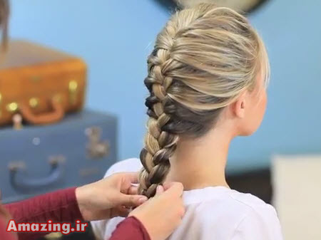 فیلم آموزش بافت مو , کلیپ آموزش بافت مو , آموزش بافت مو دخترانه
