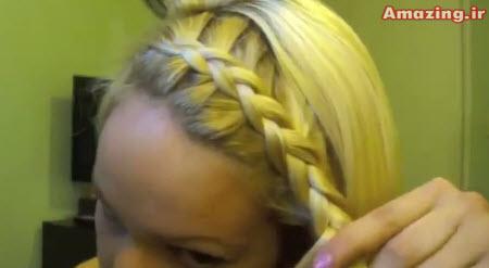 آموزش بافت مو ,  فیلم آموزش بافت مو , دانلود کلیپ آموزش بافت مو