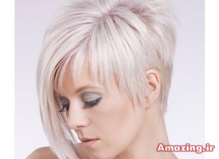 مدل مو فشن کوتاه 2015 , مدل مو کوتاه رنگ شده