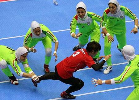 زنان کبدی ایران , عکس زنان کبدی ایران ,دختران کبدی ایران , تیم زنان کبدی ایران