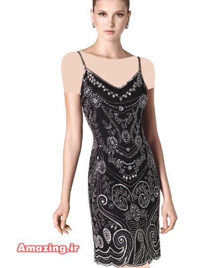 لباس شب کوتاه 2015 , مدل لباس کوتاه 2015 , لباس مجلسی کوتاه 2015