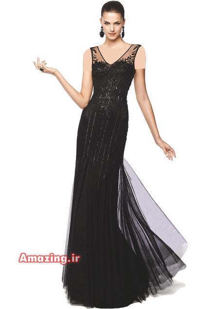 لباس شب 2015 , مدل لباس شب, لباس شب بلند