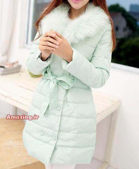 مدل پالتو , مدل کاپشن خز دار , مدل کاپشن 2015 , مدل پالتو دخترانه کره ایی