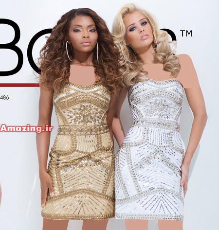 لباس مجلسی کوتاه دخترانه , لباس مجلسی کوتاه 2015 , مدل لباس مجلسی شیک 2015