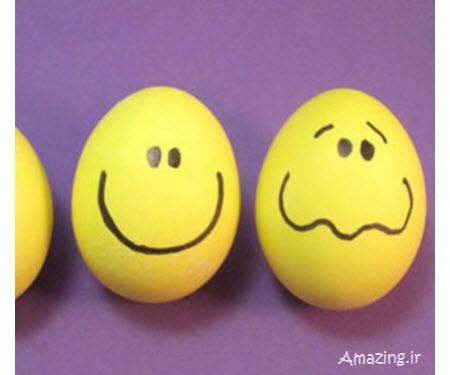 تزیین تخم مرغ هفت سین 94 مدل تخم مرغ نوروز 94 , سفره هفت سین نوروز 94