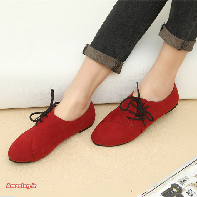 کفش رنگ سال 2015 , مدل کفش 2015 , مدل کفش رنگ سال 94