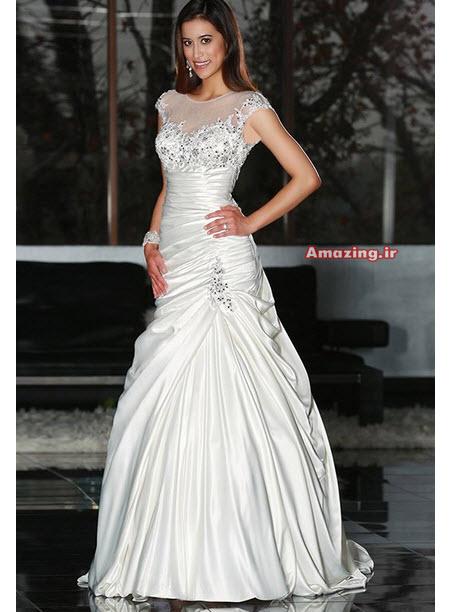 لباس عروس جدید , لباس عروس 94, لباس عروس دانتل