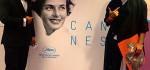 شلوار عجیب نوید محمدزاده بازیگر ایرانی در جشنواره کن