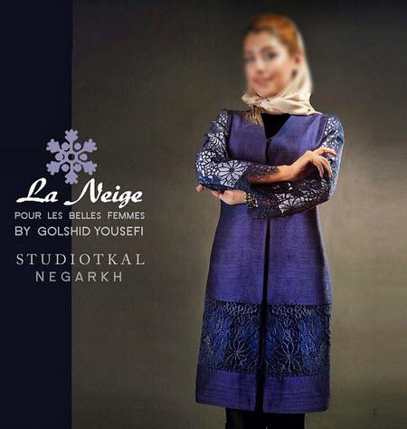 مانتو نژ , مدل مانتو سنتی 94, مانتو تابستانی نژ ,مانتو la neige