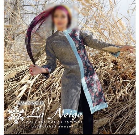 مانتو نژ , مدل مانتو مجلسی 94, مانتو تابستانی نژ ,مانتو la neige