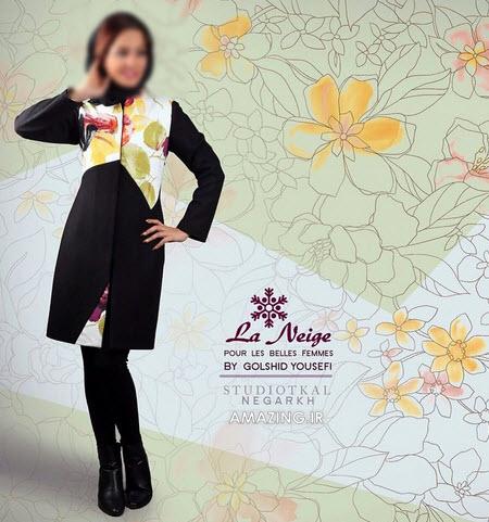 مانتو نژ , مدل مانتو شیک سنتی 94, مانتو دخترانه جذاب 94