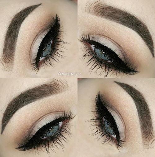 مدل سایه چشم , سایه چشم زنانه , عکس سایه چشم زدن ,سایه چشم عروس