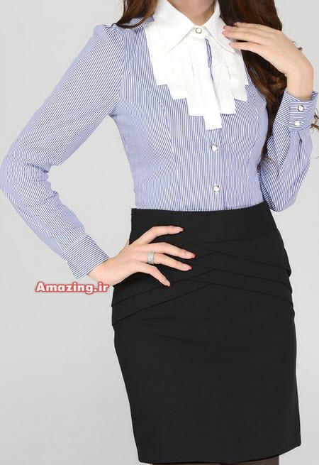 بلوز مجلسی 94 ,مدل بلوز دامن,بلوز مجلسی دخترانه 94 , بلوز دامن کره ای