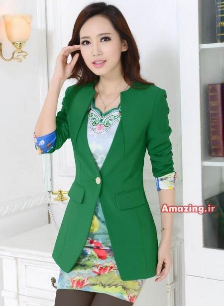 مدل کت و دامن سبز , کت و دامن مجلسی , کت و دامن زنانه , کت و دامن دخترانه