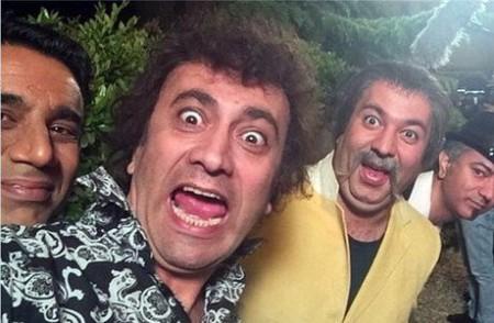 سریال در حاشیه 2 , عکس بازیگران سریال در حاشیه2 , عکس پشت صحنه سری دوم سریال در حاشیه