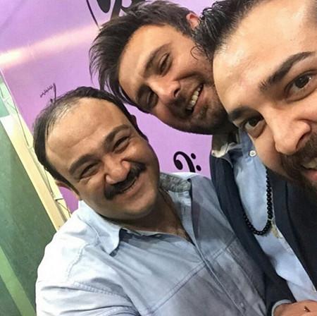 عکس جدید و زیبای غفوریان بازیگر معروف مرد ایرانی در فیسبوک و اینستاگرام