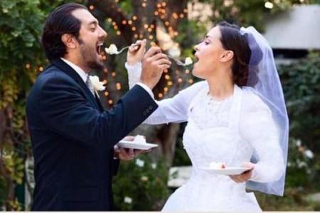 ازدواج بهرام رادان , همسر بهرام رادان , عروسی بهرام رادان