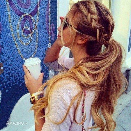 مدل موی باز زنانه ,مدل شینیون باز ,شینیون باز دخترانه,مدل موی باز ,مدل های مو باز,مدل های مو باز