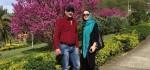عکس های حدیث فولادوند و همسرش رامبد شکرابی در حرم امام رضا (ع)