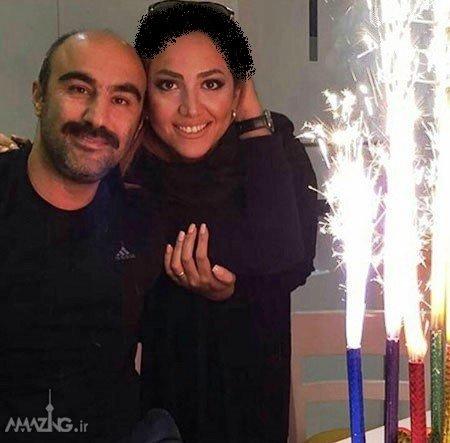 محسن تنابنده,عکس جشن تولد محسن تنابنده,عکس محسن تنابنده و همسرش