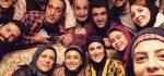 عکس های بازیگران سریال دیوار به دیوار شبکه سه برای عید نوروز ۹۶