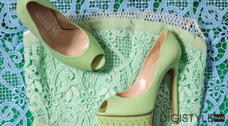 ست کفش و لباس زنانه , ست کردن لباس و کفش