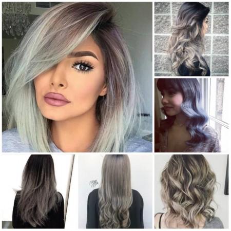 رنگ سال 2018 برای مو