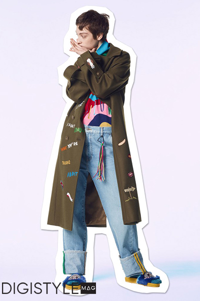 مدل لباس جین زمستانی