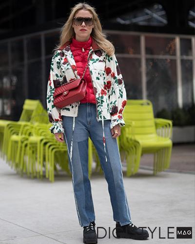 مدل لباس پاییز 2017 و 5 روش برای پوشیدن استایل گلدار زنانه