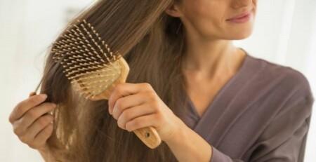 رسیدگی به مو قبل از خواب
