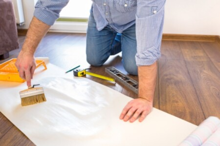 قیمت نقاشی ساختمان و نصب کاغذ دیواری